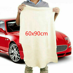 Car Chamois Leather Cleaning Drying Cloth Towel Auto Daily Caring Rag Big Size