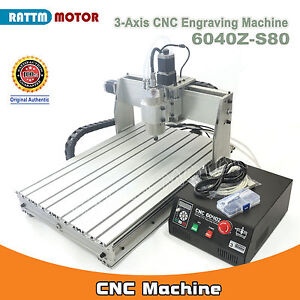 3axis 6040 1500w Cnc Mach3 Engraver Milling Machine Parallel 1 5kw Er11 110 220v
