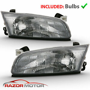 For 1997 1998 1999 Toyota Camry Oe Type Headlights Replacement Set Left Right