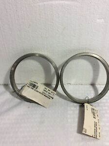 New Ahlstrom Sulzer Pump Wear Casing Ring 2324 Part 4843070133 1 Set Of 2