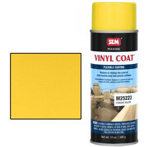 Sem M25223 Stingray Yellow Marine Vinyl Paint