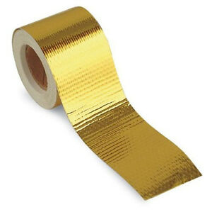 Dei 1 5 Self Adhesive Reflect A Gold Heat Wrap Barrier Tape 15ft Roll 010394