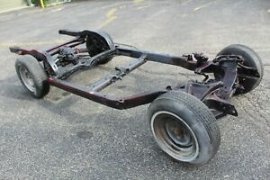 1975 1976 1977 1978 1979 Corvette Original Automatic Rolling Chassis Frame