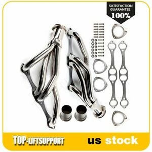 Stainless Racing Manifold Header For 81 91 Chevrolet 265 400 V8 Small Block Sbc