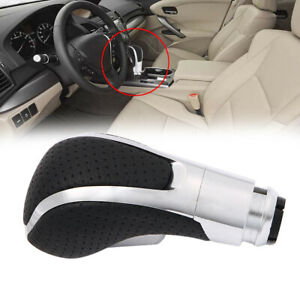 Gear Lever Shift Knob Automatic Transmission Pu Leather For Buick Regal Durable