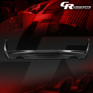 Performance Matte Black Mugen Style Rear Lip Diffuser For 2009 2014 Acura Tsx