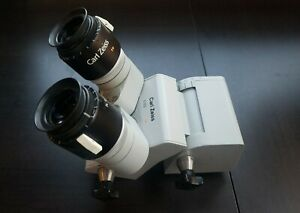 Carl Zeiss F170 T Surgical Microscope Head 10x 21 B Eyepieces