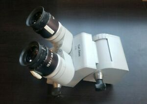 Carl Zeiss F170 T Surgical Microscope Head A Condition W 12 5x 18b Eyepieces