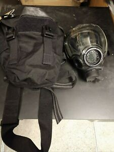 Msa Millennium Cbrn Gas Mask Respirator W espii Amplifier Filter Outsert Etc