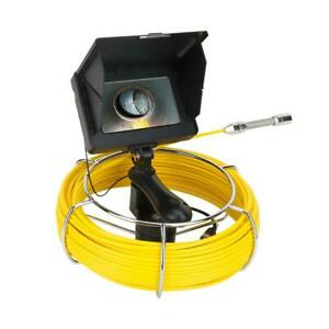5 Inch 20m 17mm Industrial Pipe Sewer Drain Inspection Video Camera Waterproof