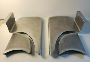 Chevrolet Chevy Gmc Coe Running Fender Step Plates Metal 1939 1946 Smooth