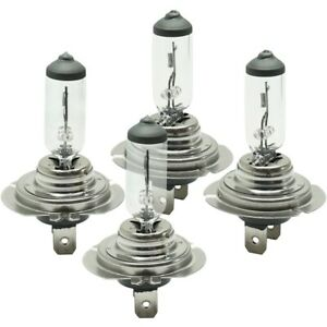 Set Of 4 Headlight Bulbs Lamps Left and right For Chevy Mercedes 3 Series 318 5