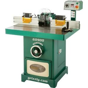 Grizzly G0900 5 Hp Deluxe Spindle Shaper