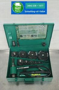 Greenlee 7310 Hydraulic Metal Knockout Punch 1 2 To 4 Punches 7