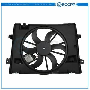 Radiator Cooling Fan Assembly For 2006 2007 2008 2009 2011 Lincoln Town Car