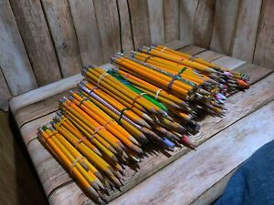 Huge Lot Of Pencil And Mechanical Pencil In A Box Over 400 there Are Some Pen