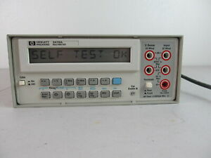 Hp 3478a Bench Top Multimeter Dmm Tested Working