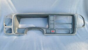 1995 98 Oem Silverado Sierra Gray Dash Bezel No Cracks Or Breaks Ships Free