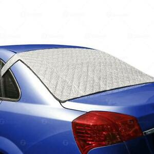 Zone Tech Car Rear Windshield Cover Protector With Flaps All Weather Summer Wi