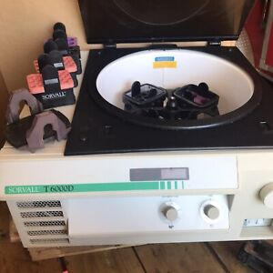 Sorvall T 6000d Centrifuge W rotor And Buckets