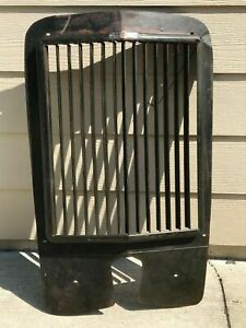 Winterfront Grille Radiator Shutter 1930s 1920s Straight Louvers Works Nice