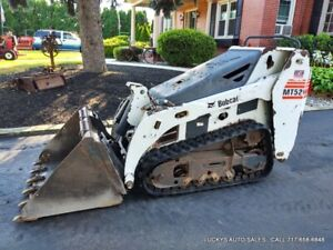 Bobcat Mt52 Track Skid Steer Loader Deisel 1185hrs 20hp Kubota Just Serviced