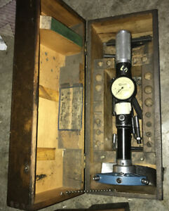 Standard Gage Model Number 6 Dial Bore Gage W Case 6 12