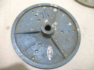1 Sears Craftsman Wood Lathe 8 Face Plate Sanding Disc 018924 3 4 20 Threads