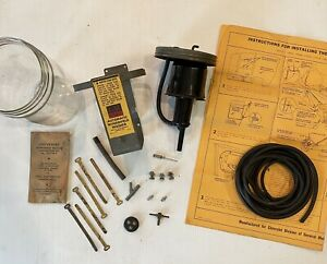 Nos 1950 1951 1952 1953 Chevrolet Car Gm Accessory Windshield Washer Kit 986650