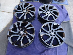 Land Rover Discovery Oem Factory 20 Wheels Rims 5x108 Gloss Black Fk7m 1007 Mb