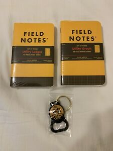 Field Notes Utility Memo Books 2 3 packs Utility And Ledger Tool Fnc 34