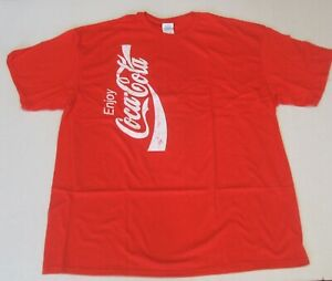 NEW RED OFFICIAL COCA-COLA T-SHIRT XL