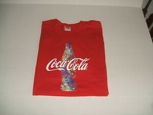 OUTSTANDING NEW RED  OFFICIAL  COCA-COLA  T-SHIRT XL