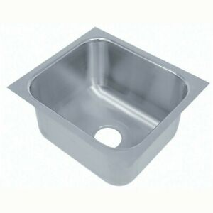 Prep Sink Advance Tabco Stainless Steel Undermount New