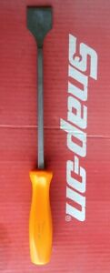 Snap On Tools 1 3 8 Wide Blade Orange Hard Handle Carbon gasket Scraper Csa14b