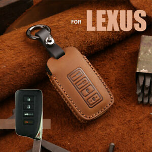 Classic Leather Car Key Fob Case Cover For Lexus Nx Rx Gs Is Rc Es Ls Lx Rx450h