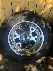 American Force Ss8 Shield Polished 20x12 With Toyo Tires Fits 8 Lug Chevy Gmc