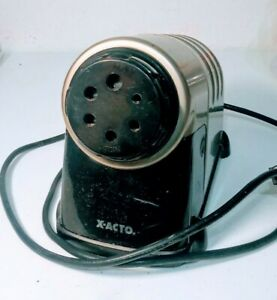 X acto Model 41 Commercial Heavy Duty Electric Pencil Sharpener Tested Works