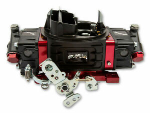 Quick Fuel Br 67318 Street Carburetor Mechanical Secondary 650 Cfm Black Red