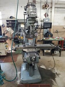 Bridgeport Series 1 Milling Machine 2hp 9 x42 Table Loaded Clean