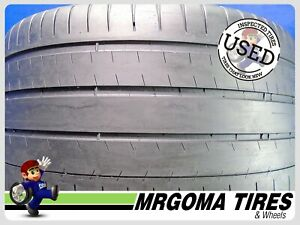 1 Michelin Pilot Super Sport K2 Xl 315 35 20 Used Tire 60 Rmng No Patch 3153520