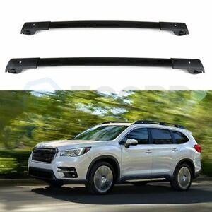 For 09 13 Subaru Forester Front Rear Roof Rack Cross Bar Aluminum High Quality