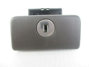Toyota Camry Glove Box Compartment Door Latch Lock Handle Dark Gray 02 06