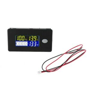 12 48v Lcd Battery Capacity Voltage Tester Meter Monitor Voltmeter Indicator New