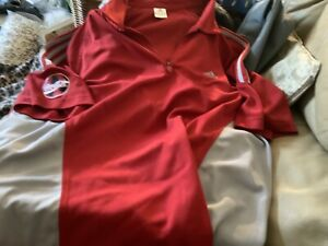 Coca Cola Polo T-Shirt Red