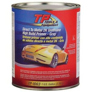 Tp Tools 3 in 1 Urethane Primer 2k Dtm Gray Gallon tp 1063