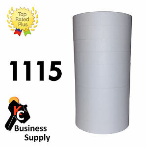 White 1115 Labels For Monarch Two Line Price Gun 10 Rolls Ink Roller Included