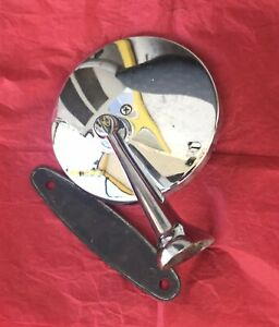 Vintage 1950 s 60 s Chrome Side View Mirror Classic