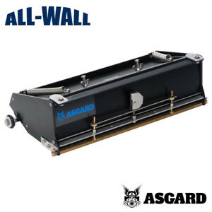 Asgard Drywall Taping Tools 12 Flat Finishing Box Pro Grade 5 year Warranty