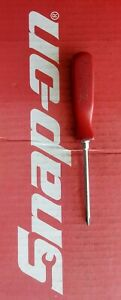 Vintage Snap On Tools 1 Phillips Tip Red Hard Handle Screwdriver Ssdp31
